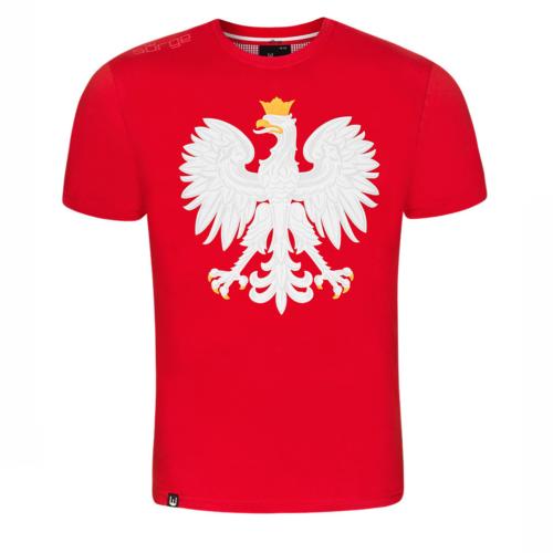 af2a676b01fd72 Koszulka patriotyczna dziecięca Miś Wojtek (KHAKI) - Narodowy